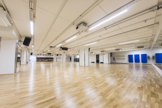 Group exercise hall at UniSport Kluuvi