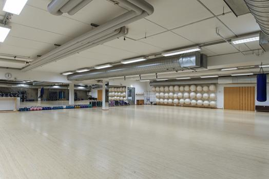 exercise hall at Meilahti Sports Centre