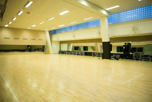 Exercise hall in Porthania